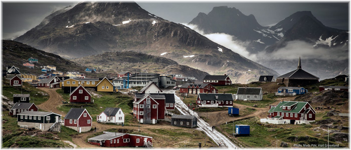 Tasiilaq, Greenland - The largest town in Eastern Greenland is the gateway to pretty much every kind of experience Greenland offers (Credit: Mads Pihl Visit Greenland)