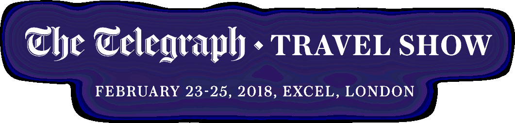 Daily Telelgraph Travel Show - Excel London 23-25 February 2018
