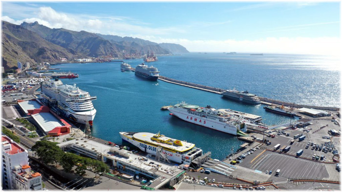 The Port of Tenerife - Canary Islands, Spain (Courtesy Medcruise)