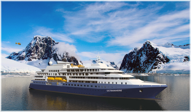 Quark Expeditions' Ultramarine (Rendering courtesy Quark Expeditions)