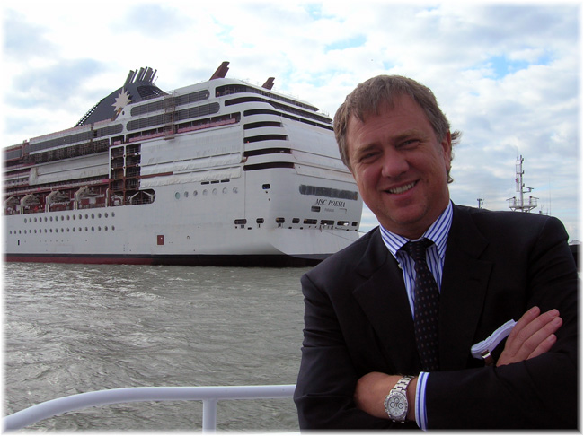 Pierfrancesco Vago, MSC Cruises' Executive Chairman (Click to enlarge)
