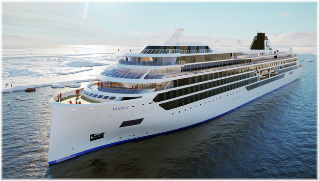 Viking Polaris (Rendering courtesy Viking Cruises, January 2020)