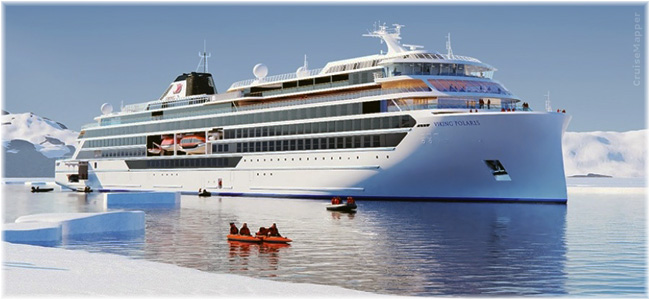Viking Polaris (Rendering courtesy Viking Cruises)