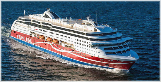 The 880 passenger cabins Viking Grace (Courtesy of Viking Ferries)