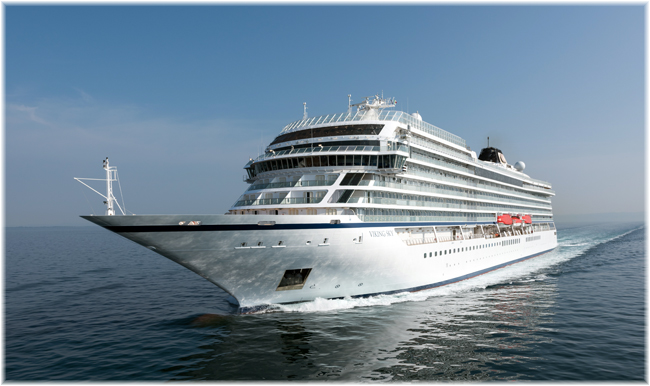 The Viking Sky (Courtesy Fincantieri)