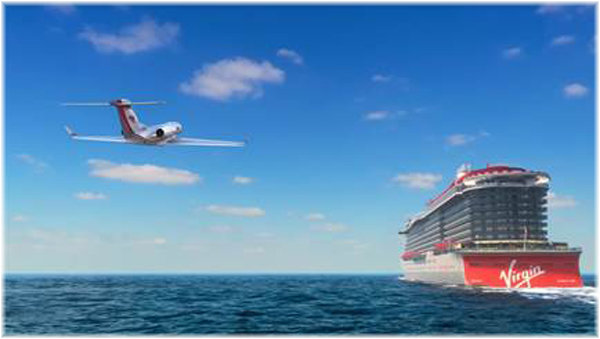 Virgin Voyages' Sir Richard Branson Launches Jet Transfers (Courtesy Virgin Voyages)