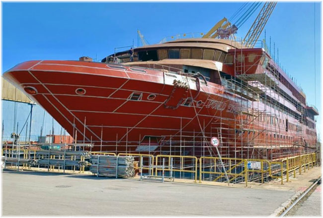 World Explorer (Courtesy WestSea Viana Shipyard)