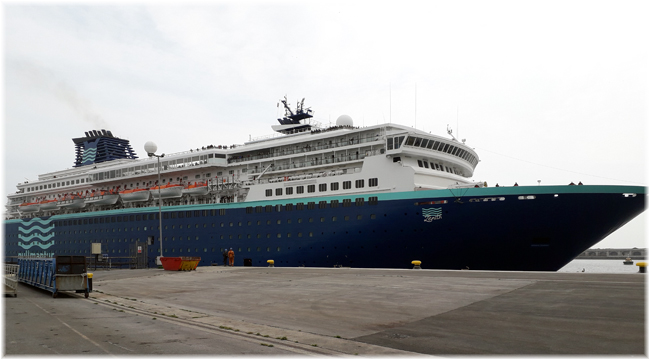 Pullmantur's Zenith  (Courtesy Portland Harbour Authority, UK)