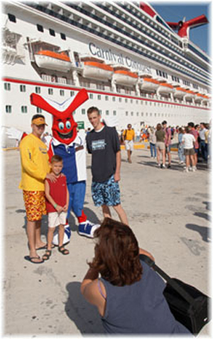Carnival's cruise experience involves an interactive and participatory style of holiday