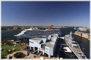 Carnival Victory at Norfolk