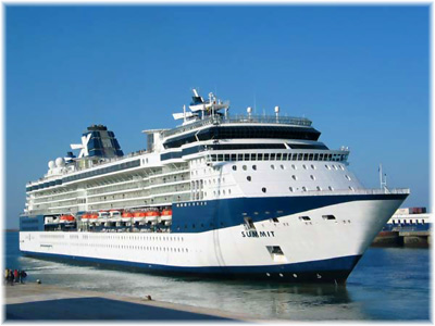 Celebrity Summit at Cherbourg, France