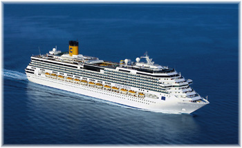 Costa Serena celebrated its maiden call at the Shanghai Wusongkou Int. Cruise Terminal on April 24th