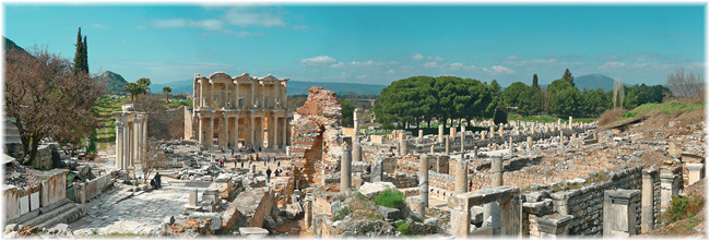 Ephesus, Turkey: one of the best-preserved cities of antiquity in the world (Courtesy kusadasi.biz)