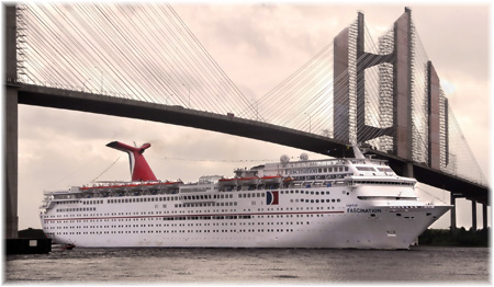 Carnival Fascination, in this image at Jacksonville