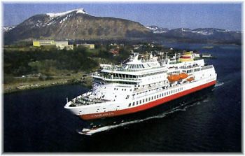 The Finnmarken - Hurtigruten (Click to enlarge)