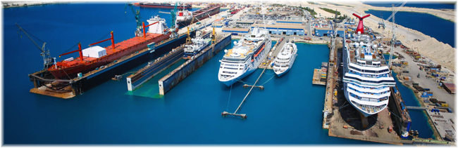 Grand Bahama Shipyard in Freeport