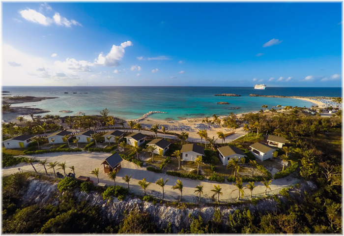 Great Stirrup Cay (GSC), Norwegian Cruise Line's resort-style destination and 270-acre private island in the Bahamas (Courtesy NCL)