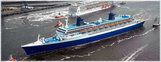 The Norway (Photo Credit Lloyd Werft Bremerhaven)