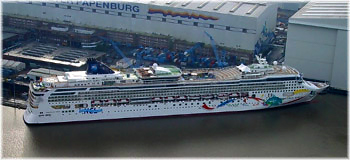 Cruise Ship Building Asia Invades Europe - Cruise ship builders