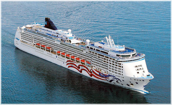 Pride of America (Courtesy Norwegian Cruise Line)