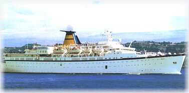 Classic International Cruises' Princess Danae (1994 - 2012) ex Danae