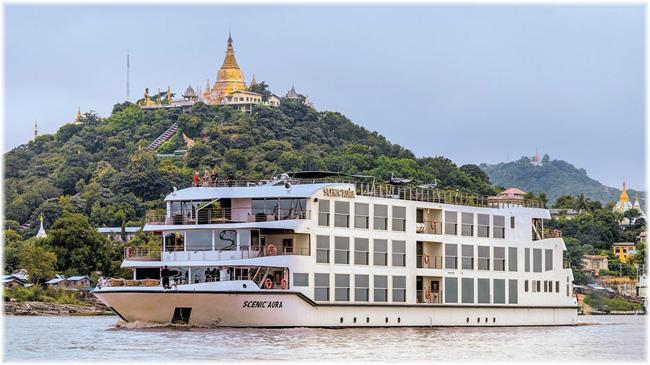 Scenic Aura (Myanmar's Irrawaddy River cruises)