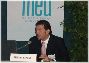 Sergio Senesi - Cemar Agency Network of Genoa presented its annual report on the Italian cruise market in Miami