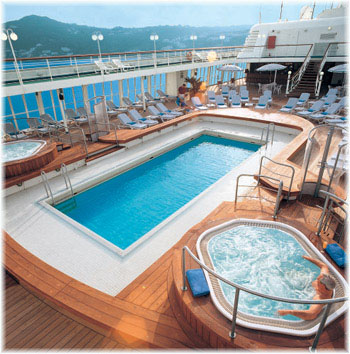 Silver Whisper - The Pool Area