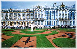 Hermitage Museum at the Winter Palace in St Petersburg