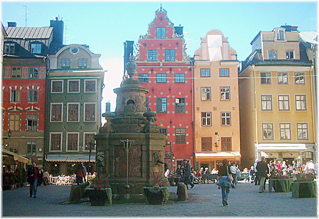 Stortorget - Old Town in Stockholm (Stefano Fermi)