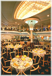 Vision of the Seas - Aquarius Dining Room